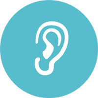 Audiometry icon / Mediright Healthcare Services in Worksop