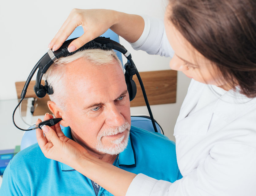 Audiometry Hearing Test & Evaluation