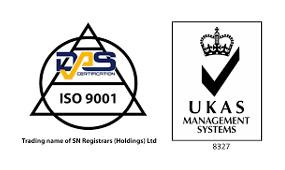 ISO 9001 & UKAS Logos
