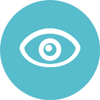 Vision Testing icon / Mediright Healthcare Services